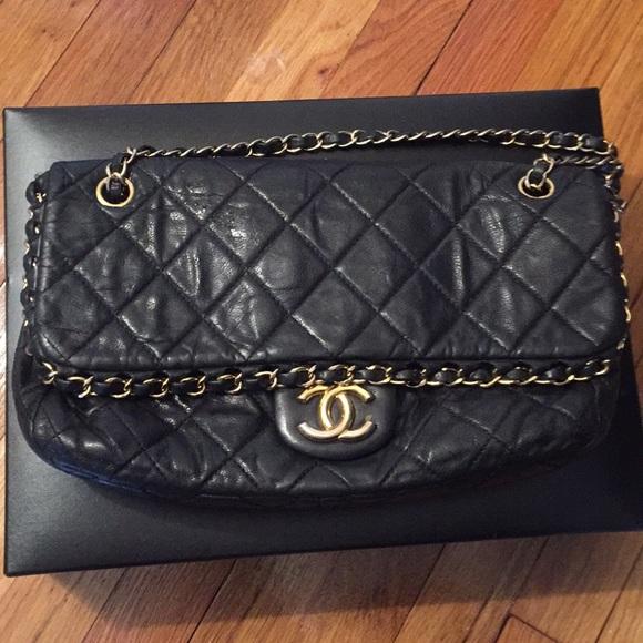 b4f8de6f13f3 CHANEL Handbags - Authentic Chanel chain me bag